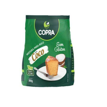MISTURA PARA BOLO VEGANO, COCO 300G COPRA