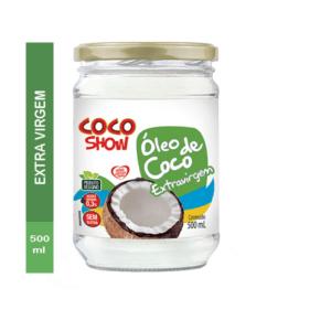ÓLEO DE COCO EXTRA VIRGEM 500ML COCO SHOW